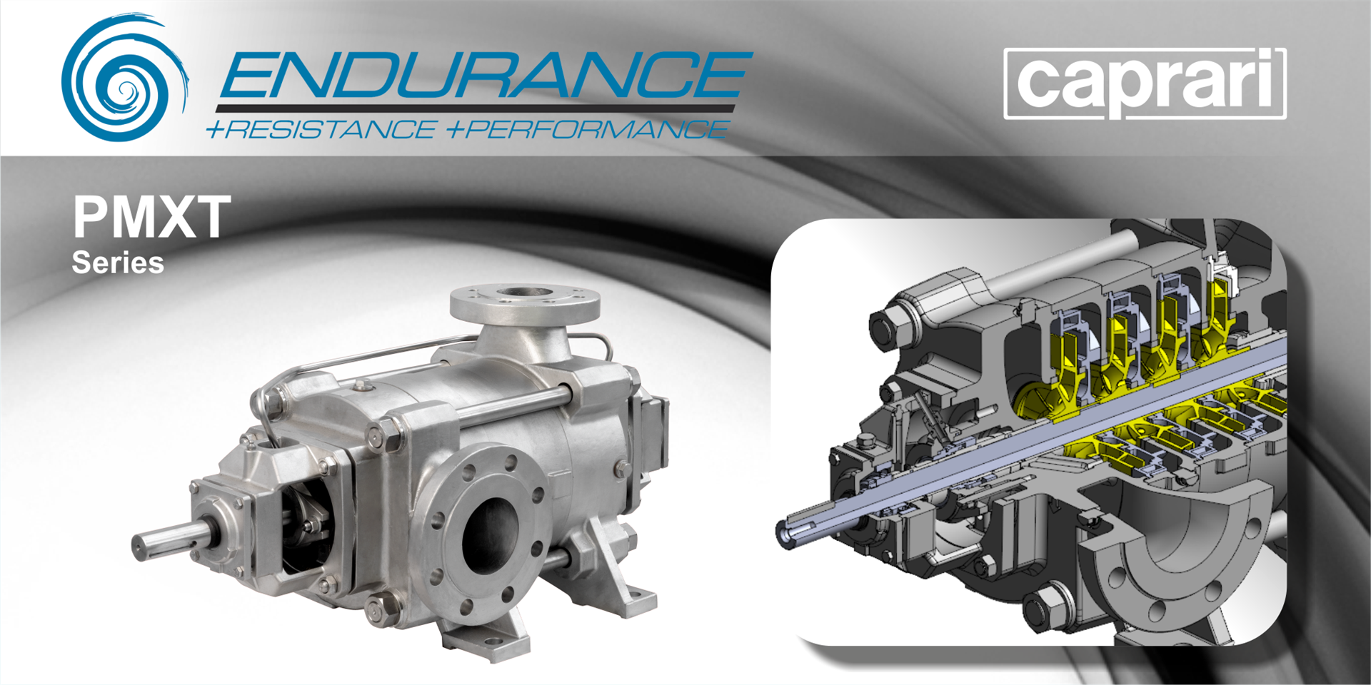 NEW HIGH PRESSURE MULTISTAGE HORIZONTAL PUMPS PMXT ENDURANCE