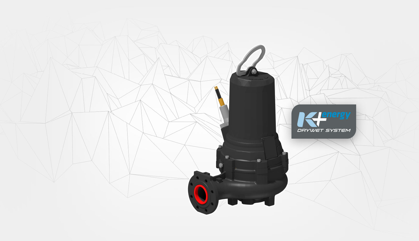 K + energy: welcome in the new era of sewage pump